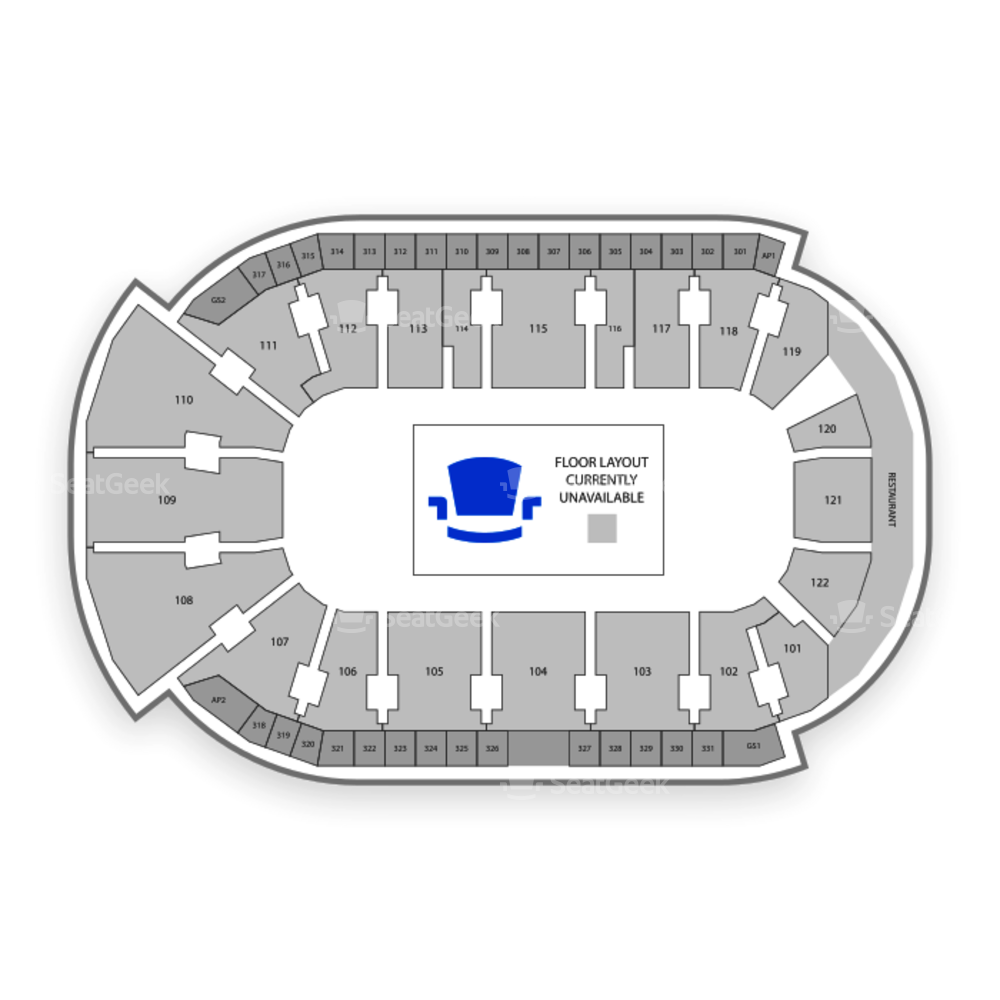 WFCU Centre Seating Chart Concert
