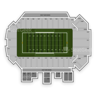 Montana Grizzlies Football Seating Chart