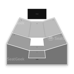 Sandy Amphitheater Seating Chart Theater