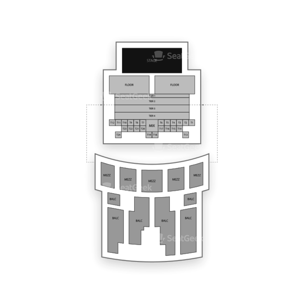 Aztec Theatre Seating Chart Concert