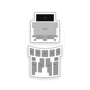 Aztec Theater Seating Chart Concert