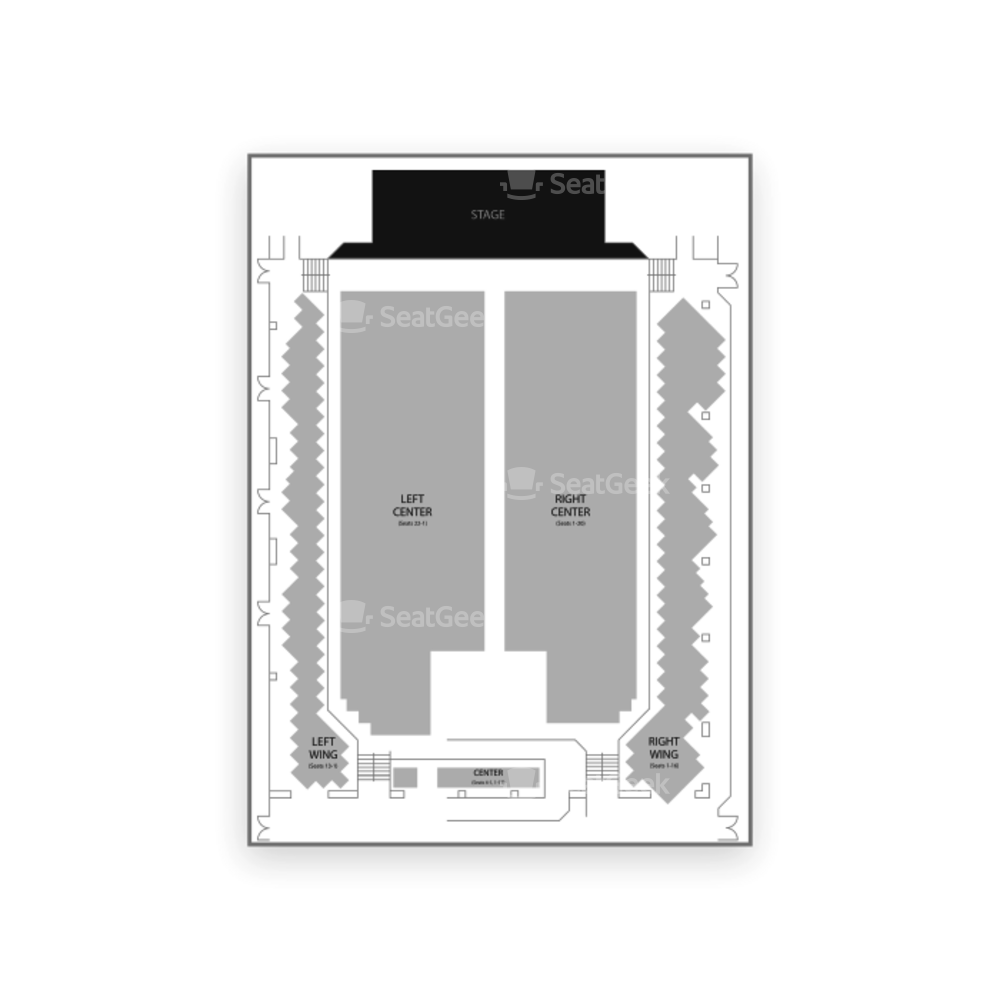 Sands Bethlehem Event Center Seating Chart Concert