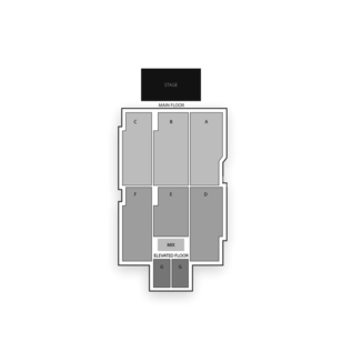 Deadwood Mountain Grand Seating Chart Theater