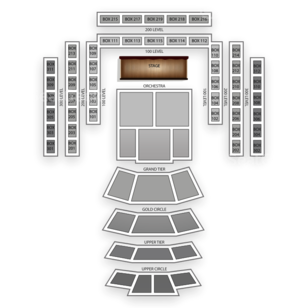 Cerritos Center Seating Chart Theater
