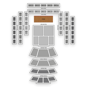 Cerritos Center Seating Chart Classical Orchestral Instrumental