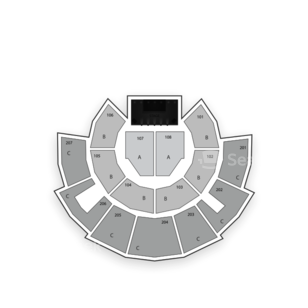 Beau Rivage Theatre Seating Chart Concert