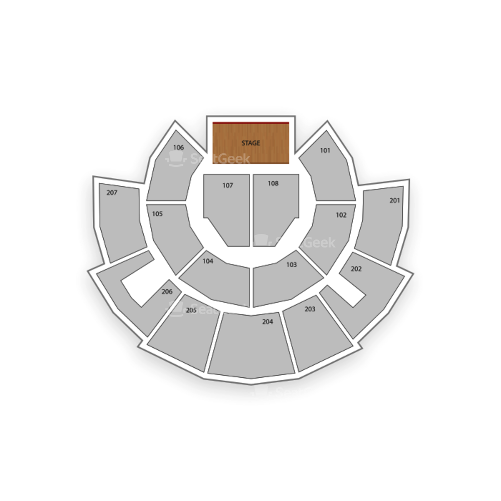 Beau Rivage Theatre Seating Chart Dance Performance Tour