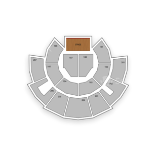 Beau Rivage Theatre Seating Chart Comedy