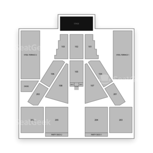 Sands Steel Stage at PNC Plaza Seating Chart Concert