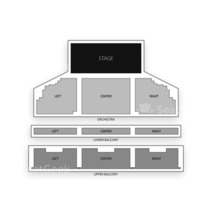 The Theatre at Ace Seating Chart Classical Orchestral Instrumental