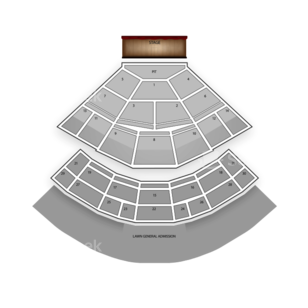 Saratoga Performing Arts Center Seating Chart Theater
