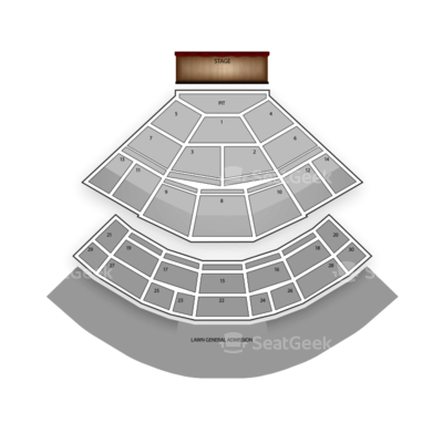Saratoga Performing Arts Center seating chart Kings of Leon