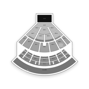 Saratoga Performing Arts Center Seating Chart Concert