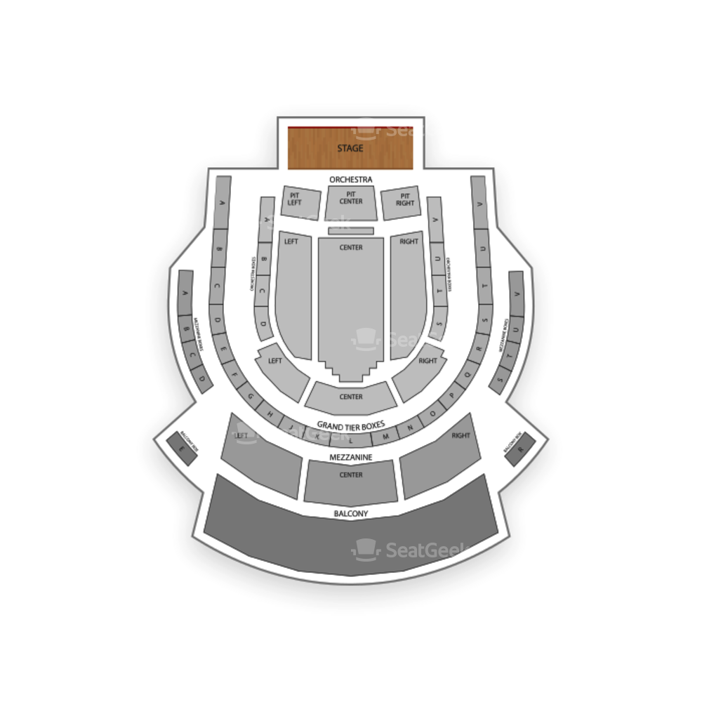 Tobin Center for the Performing Arts Seating Chart Broadway Tickets National