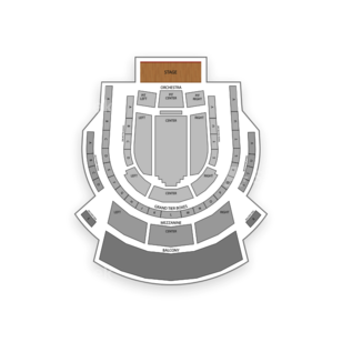 Tobin Center for the Performing Arts Seating Chart Dance Performance Tour