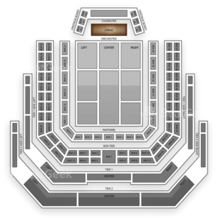 Kennedy Center - Concert Hall Seating Chart Classical