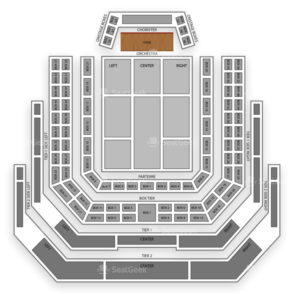 Kennedy Center Concert Hall Seating Chart Concert