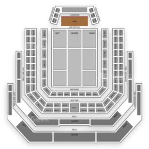 Kennedy Center Concert Hall Seating Chart Theater