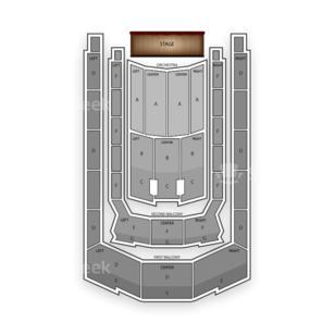 Boston Symphony Hall Seating Chart Theater