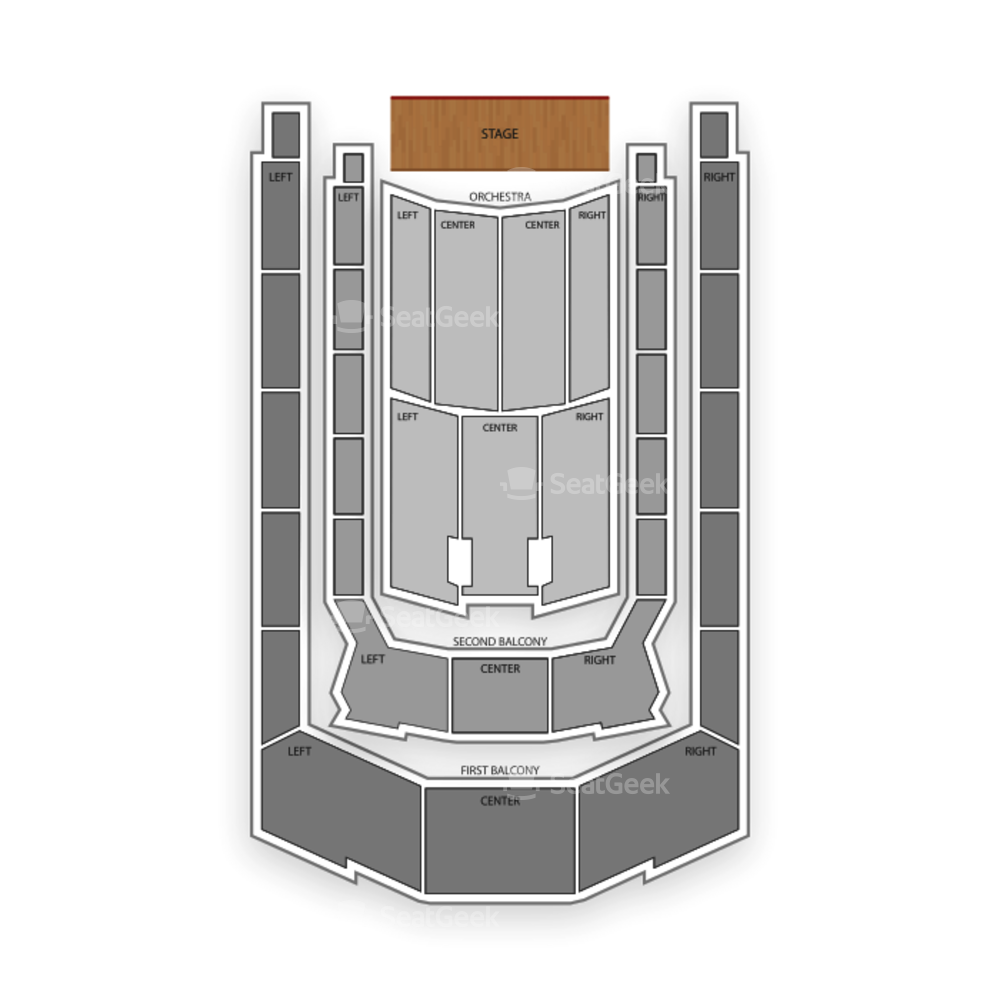Boston Symphony Hall Seating Chart Concert