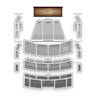 Amaturo Theater - Broward Ctr For The Perf Arts Seating Chart Classical