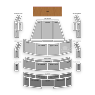 Broward Center Amaturo Seating Chart Comedy