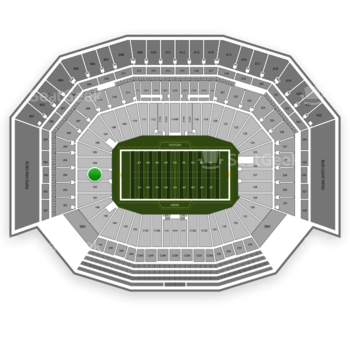 NFL at Levi's Stadium Section 103 View