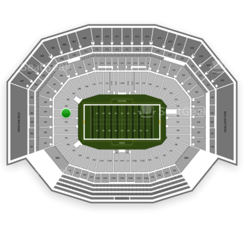 NFL at Levi's Stadium Section 104 View