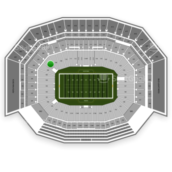 NFL at Levi's Stadium Section 107 View
