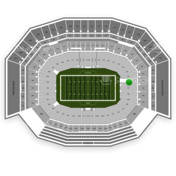 NFL at Levi's Stadium Section 126 View