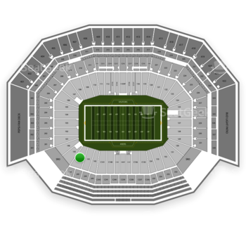NFL at Levi's Stadium Section 144 View