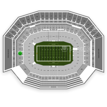 NFL at Levi's Stadium Section 203 View
