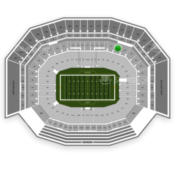 NFL at Levi's Stadium Section 222 View