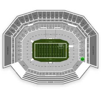 NFL at Levi's Stadium Section 231 View