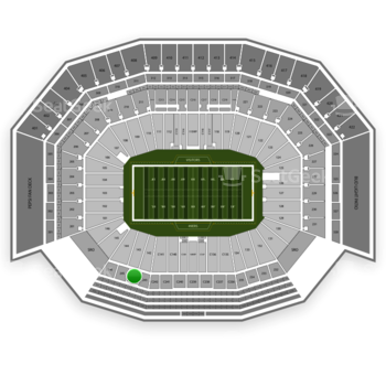 NFL at Levi's Stadium Section 244 View