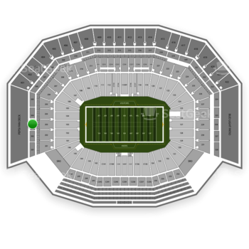 NFL at Levi's Stadium Section 303 View