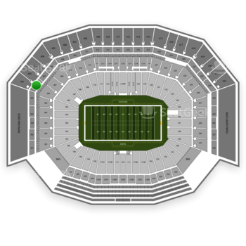 NFL at Levi's Stadium Section 306 View
