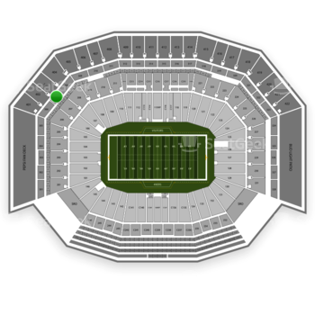 NFL at Levi's Stadium Section 307 View