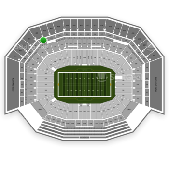 NFL at Levi's Stadium Section 309 View