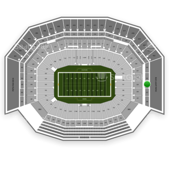NFL at Levi's Stadium Section 326 View
