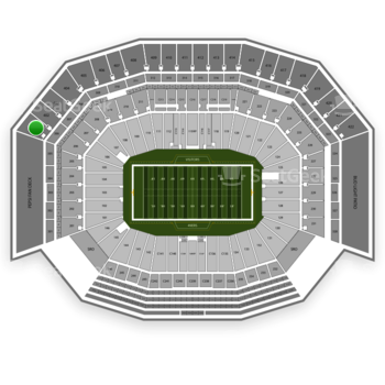 NFL at Levi's Stadium Section 401 View