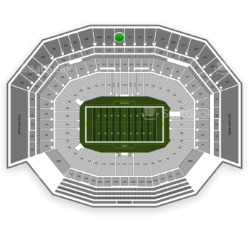 NFL at Levi's Stadium Section 411 View