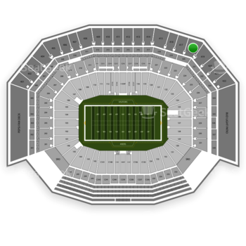 NFL at Levi's Stadium Section 418 View