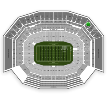 NFL at Levi's Stadium Section 419 View