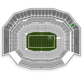 NFL at Levi's Stadium Section 421 View
