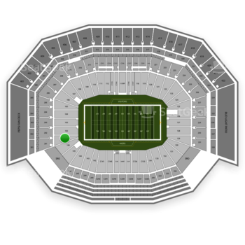 San Francisco 49ers at Levi's Stadium Section 101 View