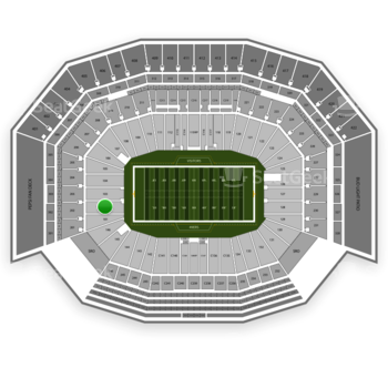 San Francisco 49ers at Levi's Stadium Section 102 View