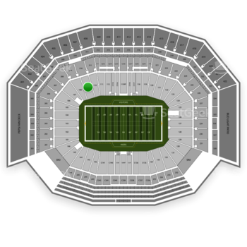 San Francisco 49ers at Levi's Stadium Section 109 View