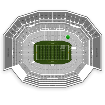 San Francisco 49ers at Levi's Stadium Section 121 View