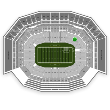 San Francisco 49ers at Levi's Stadium Section 122 View